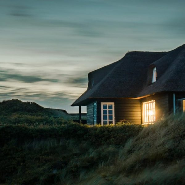 Home on hill